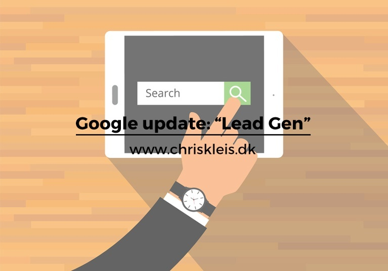 Google update: Lead Gen